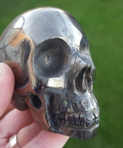 Powerful Pyrite Skull