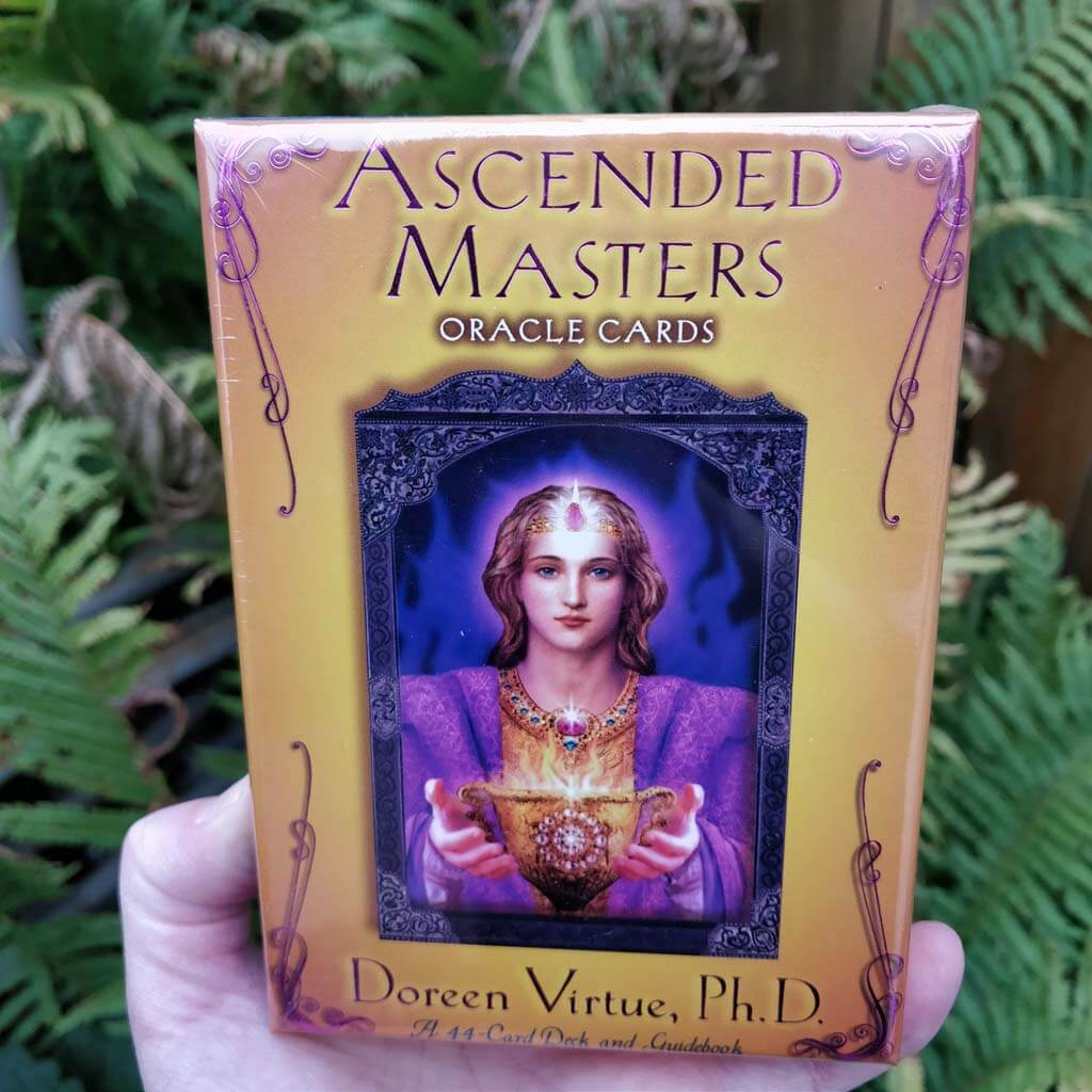 Ascended Masters Oracle Cards 44 Card Deck And Guidebook