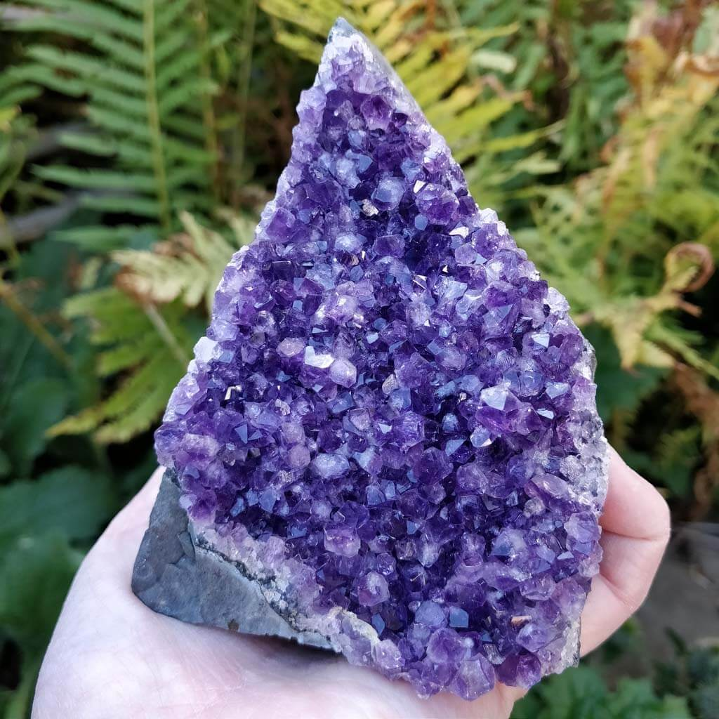 Amethyst Angle Cut from Uruguay! (Self Standing)