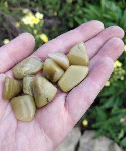 Olive Green Opal Stone