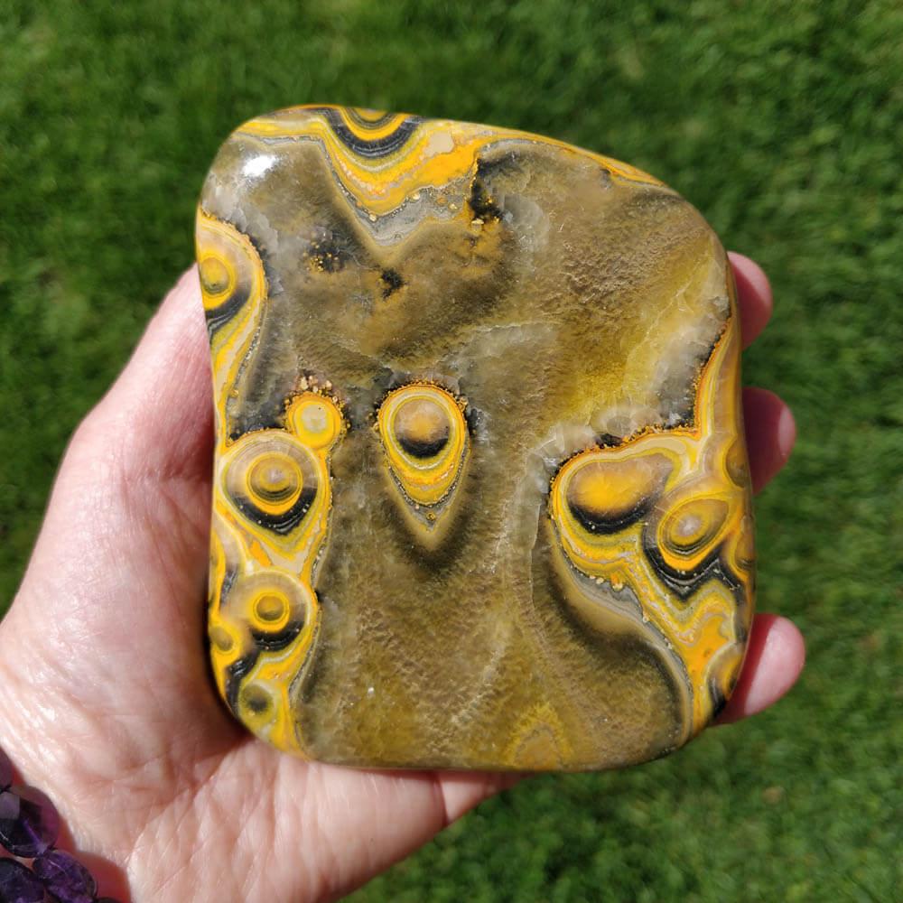 Bumblebee Jasper Free Form
