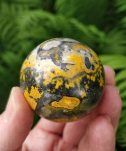 Bumblebee Jasper Sphere