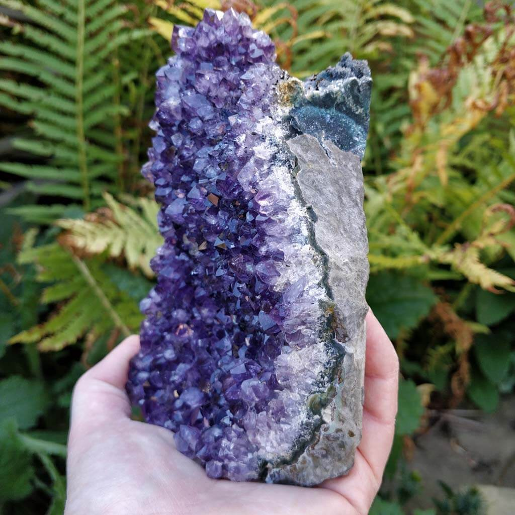 Natural Amethyst Cluster from Uruguay