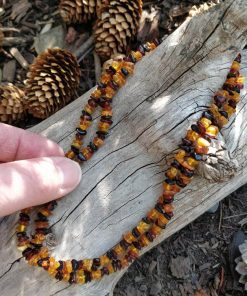 Raw Mixed Amber Necklace